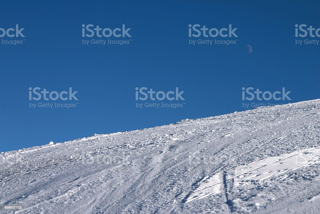 Pure Slope royalty-free stock photo
