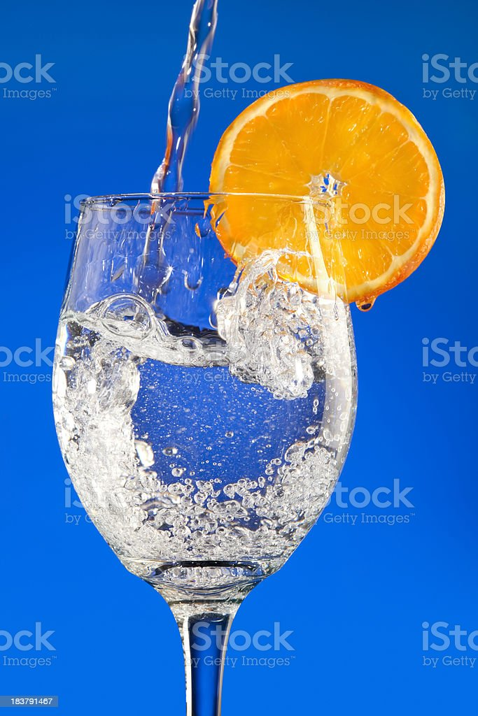 Pure Water; The Perfectly Natural Drink stock photo
