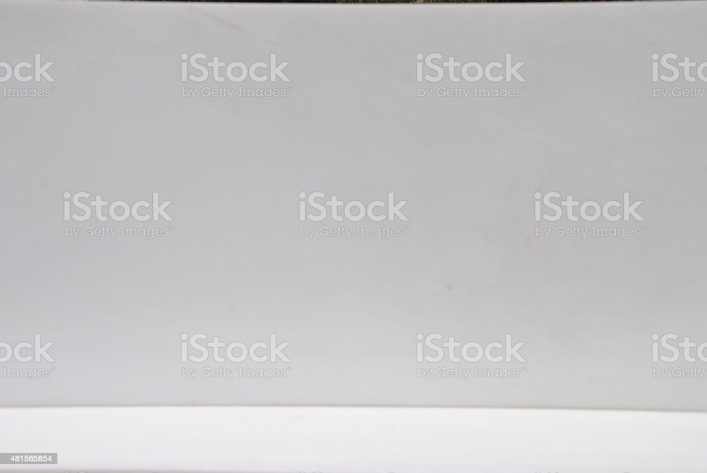 Pure white Marble production - close up stock photo