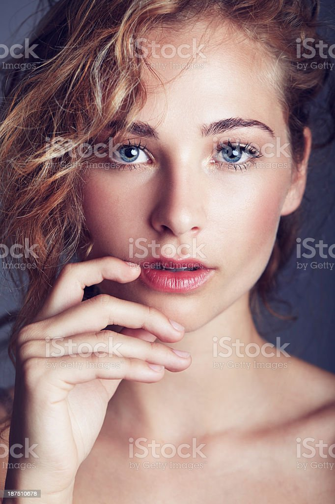 Purely alluring royalty-free stock photo