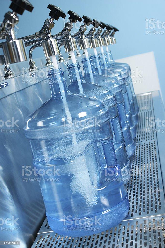 Purified H2O stock photo
