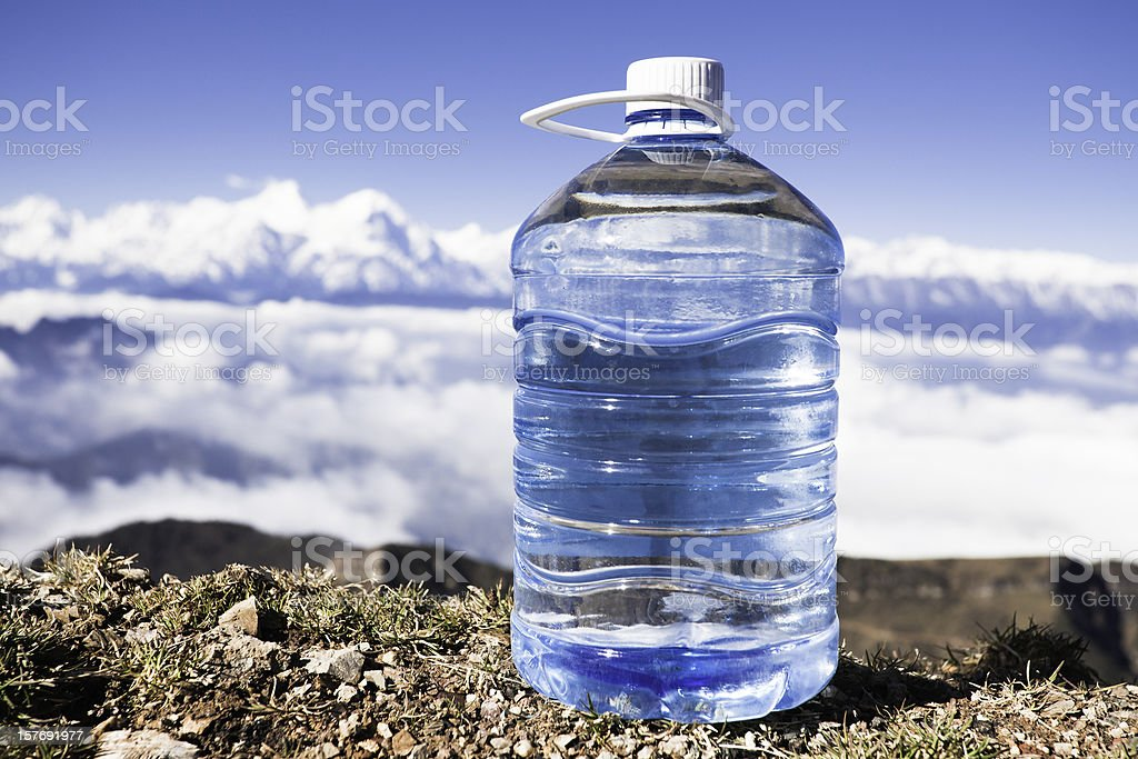 purified water royalty-free stock photo
