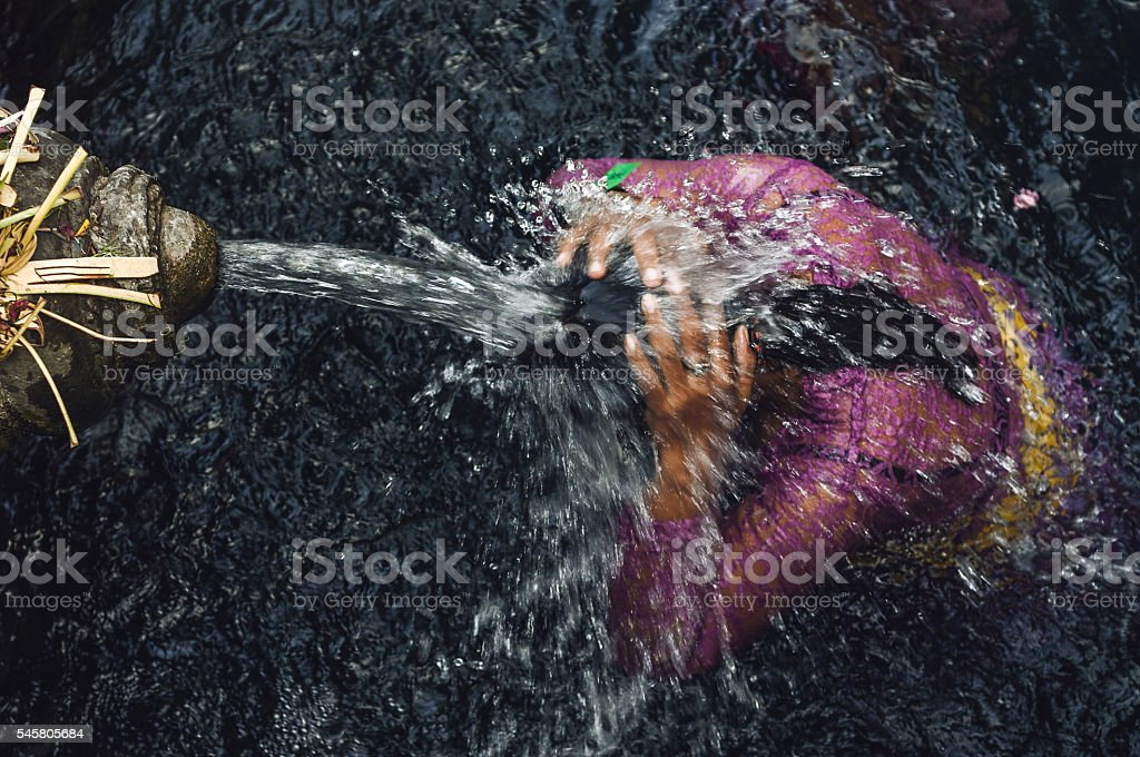 Purifying stock photo