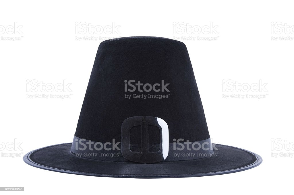Puritan's Hat royalty-free stock photo