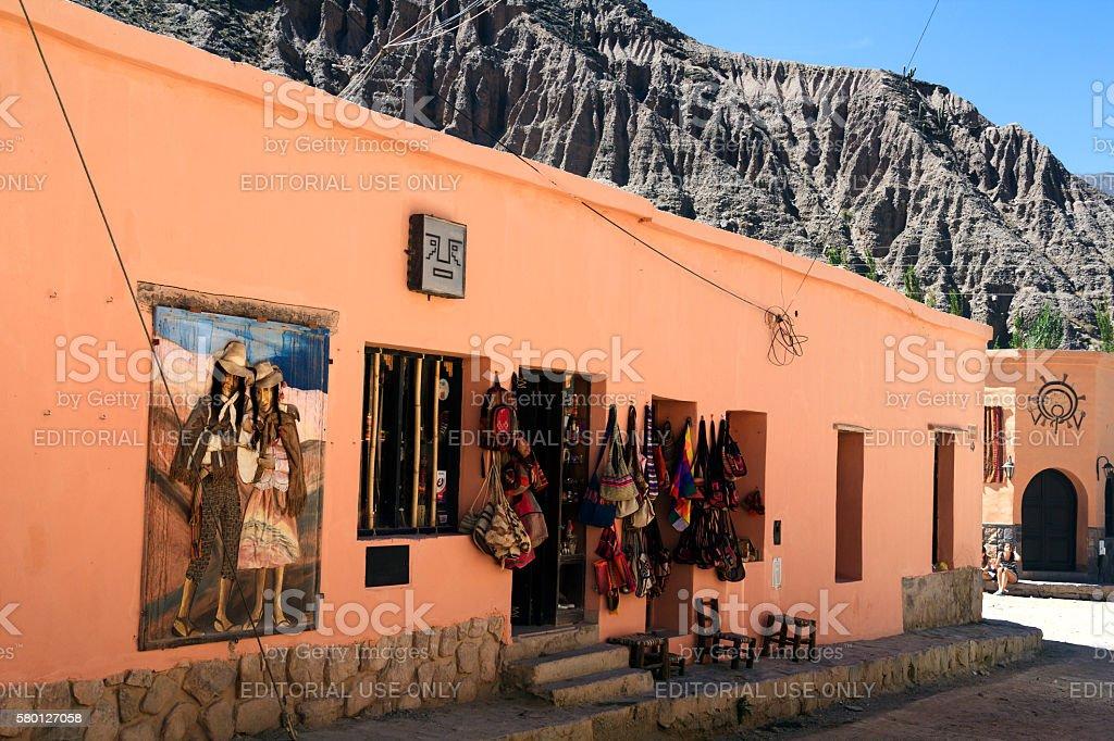 Purmamarca, Jujuy - Argentina. stock photo