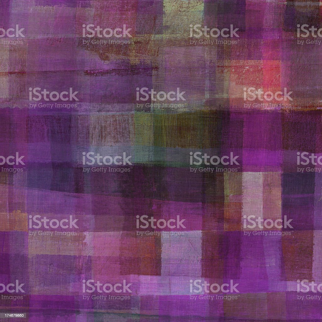 Purple Abstract Art royalty-free stock photo