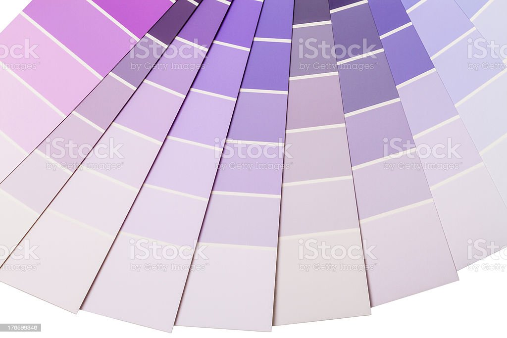 Purple and lilac color range royalty-free stock photo