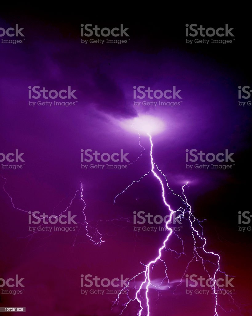 Lightning foto stock royalty-free