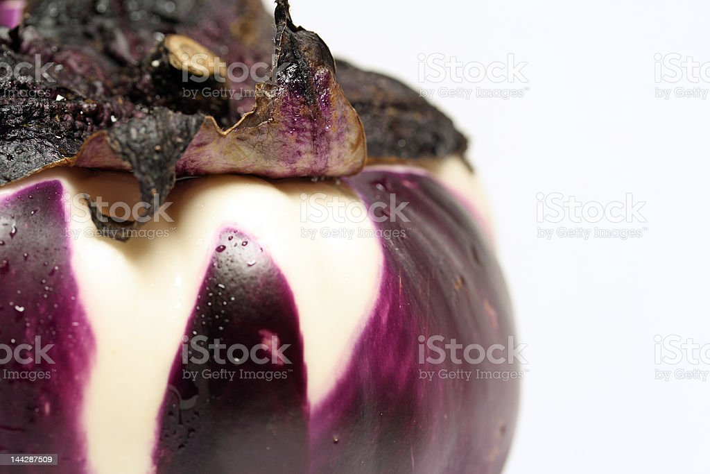 Purple and white Vegetable royalty-free stock photo