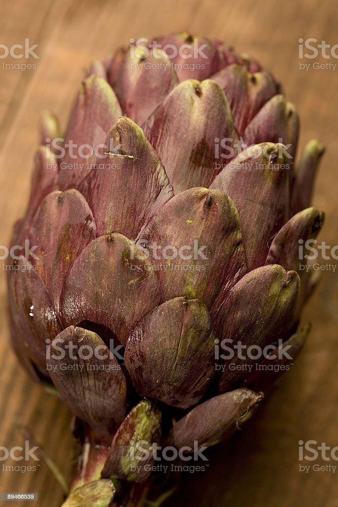 Purple Artichoke royalty-free stock photo