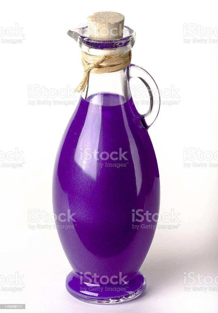 Purple Bath equipment royalty-free stock photo