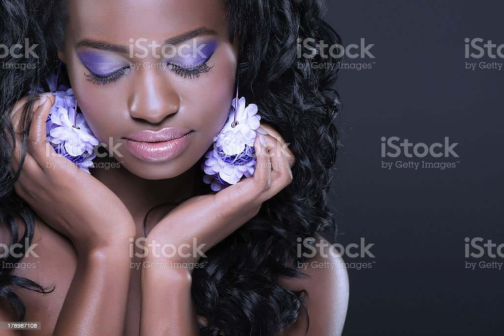 Purple beauty royalty-free stock photo