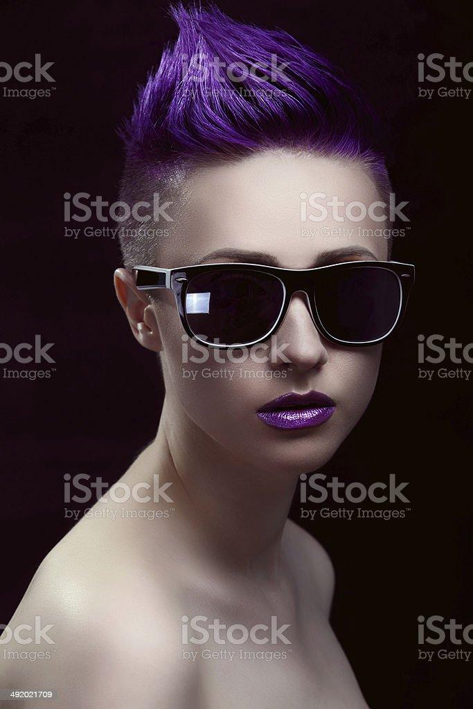 Purple Beauty Lizenzfreies stock-foto