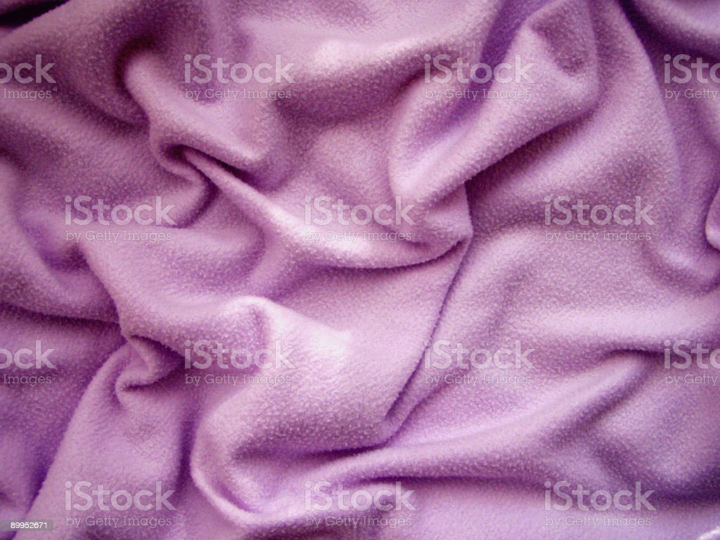 Purple blanket stock photo