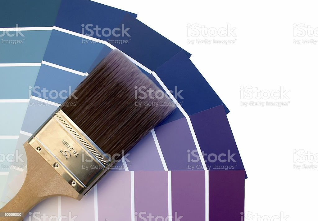 Purple Blues royalty-free stock photo