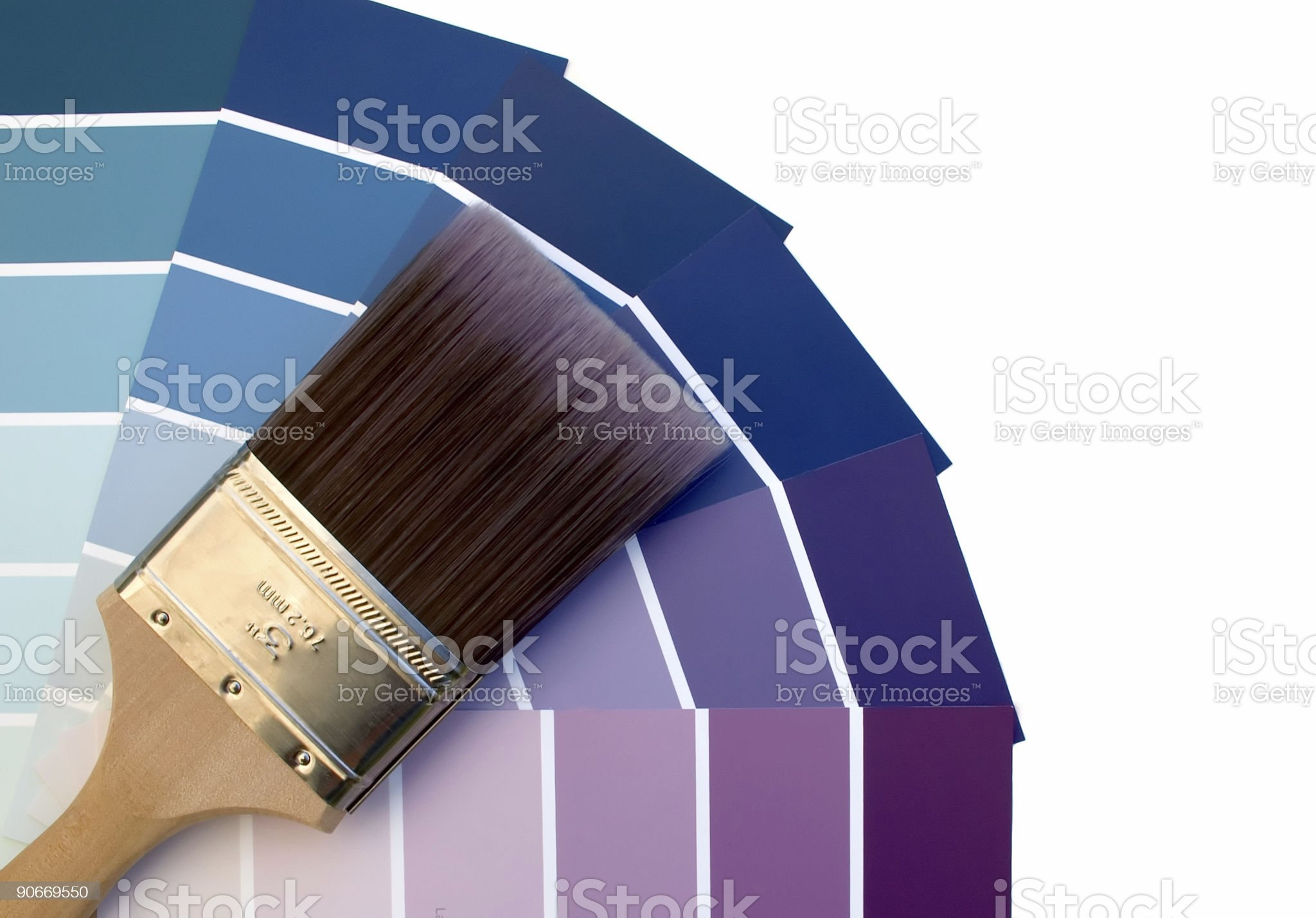 Purple Blues royalty-free stock photo