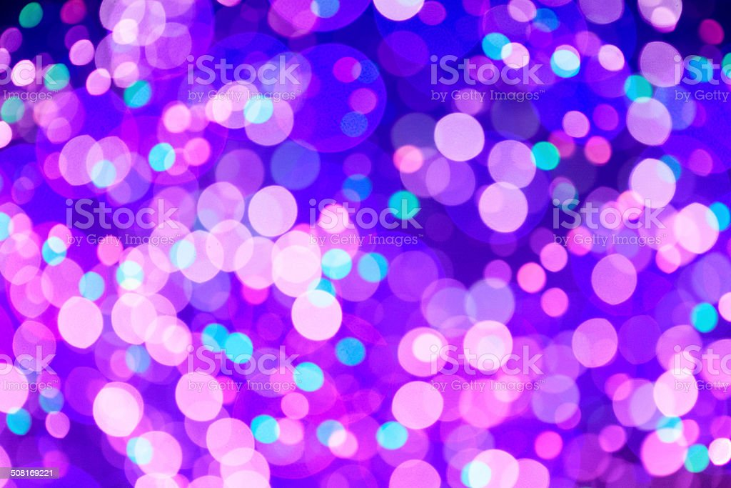 Purple Bokeh Background stock photo