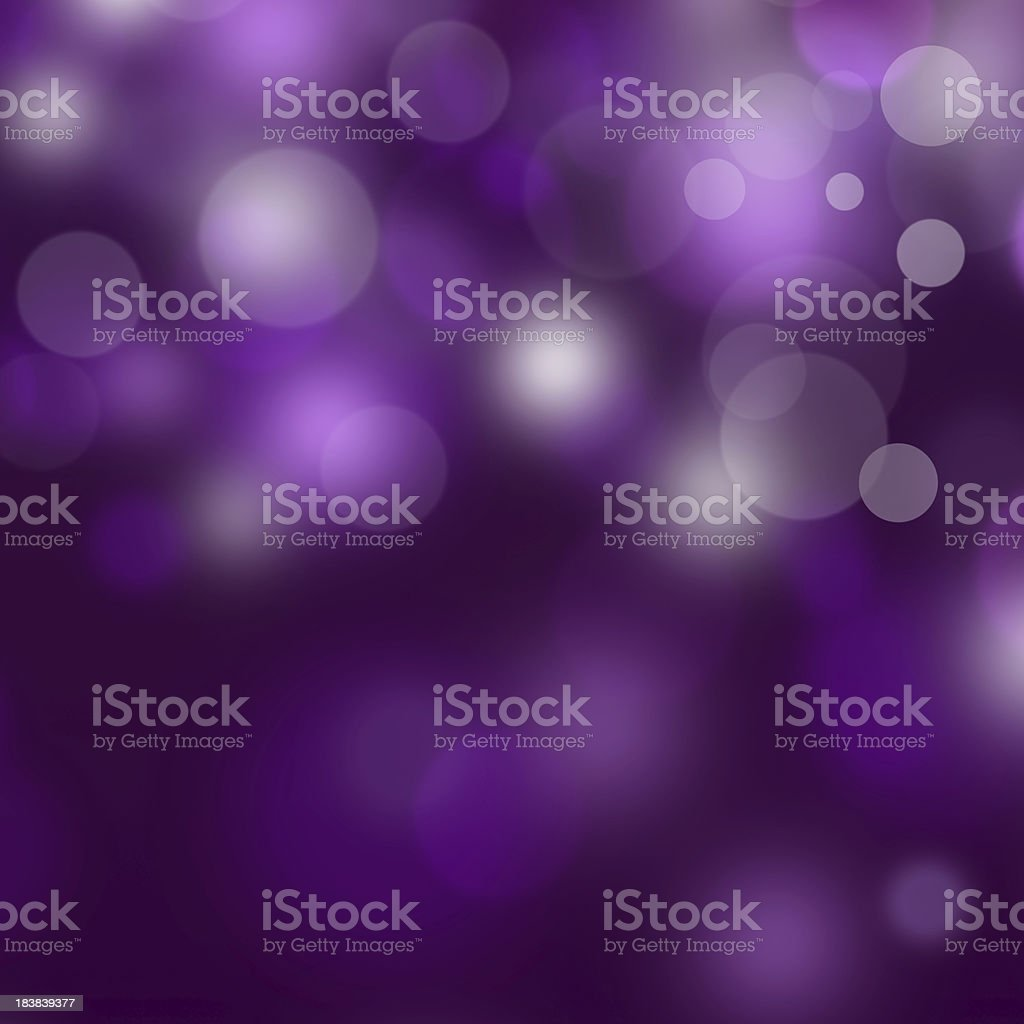 Purple bokeh royalty-free stock photo
