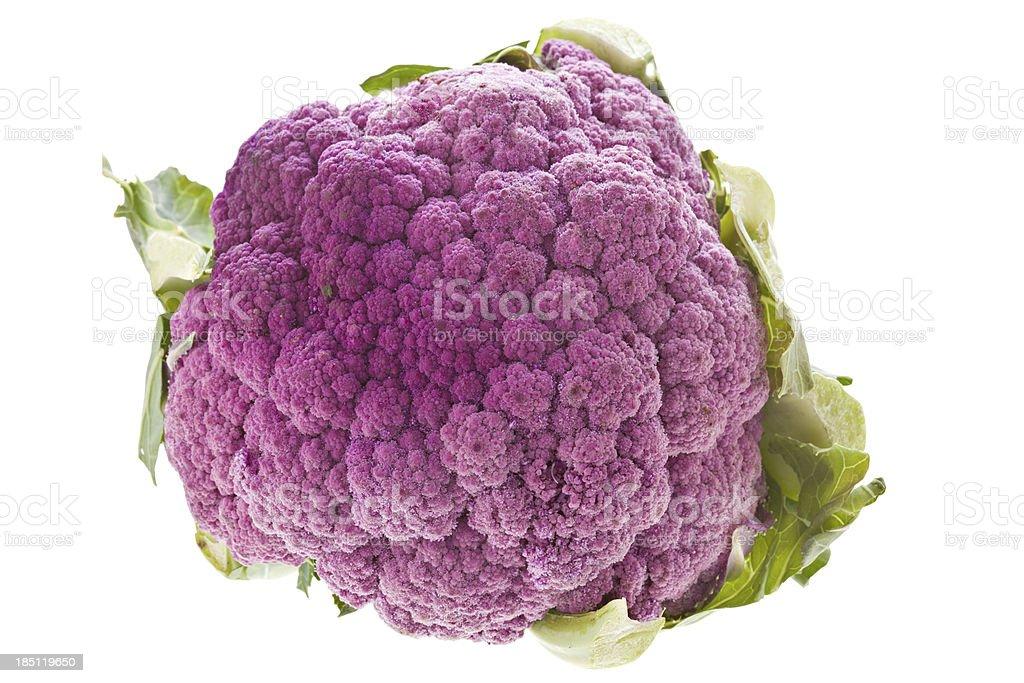 Purple Cauliflower royalty-free stock photo