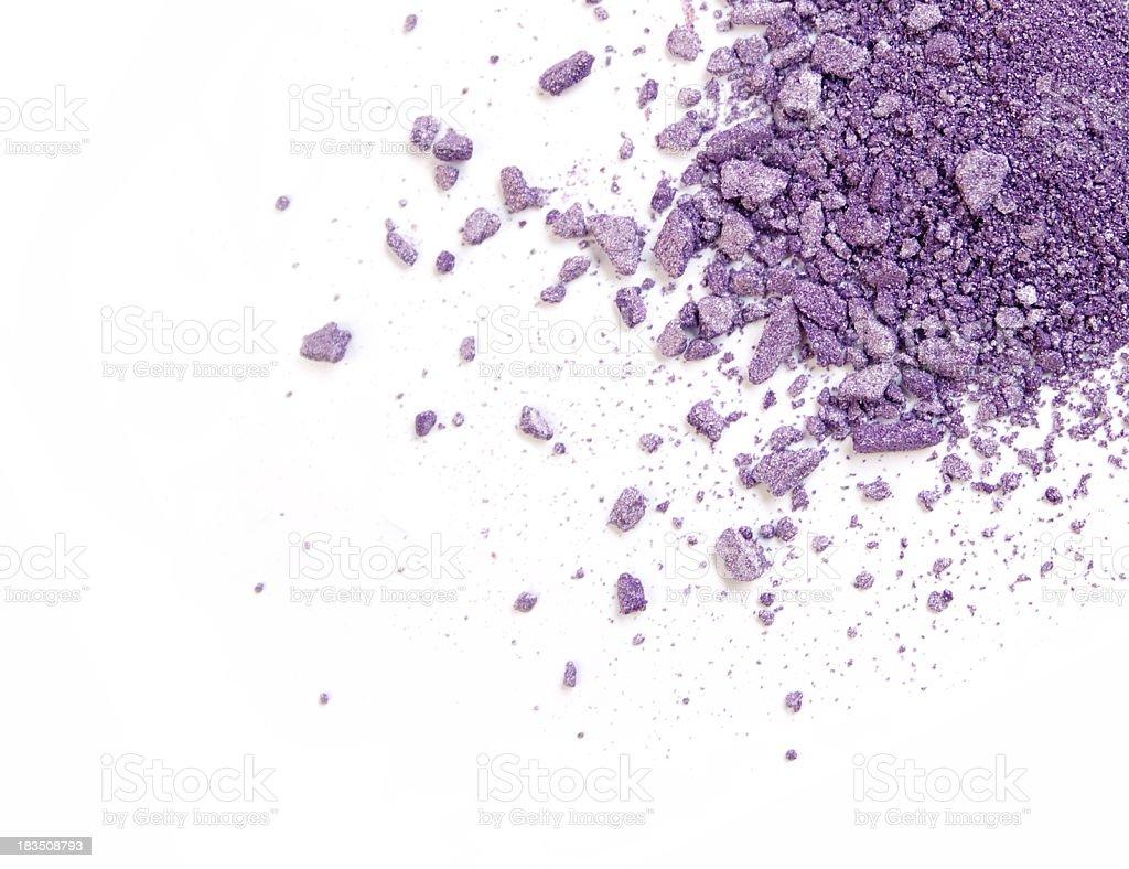 Purple Color Eyeshadow royalty-free stock photo