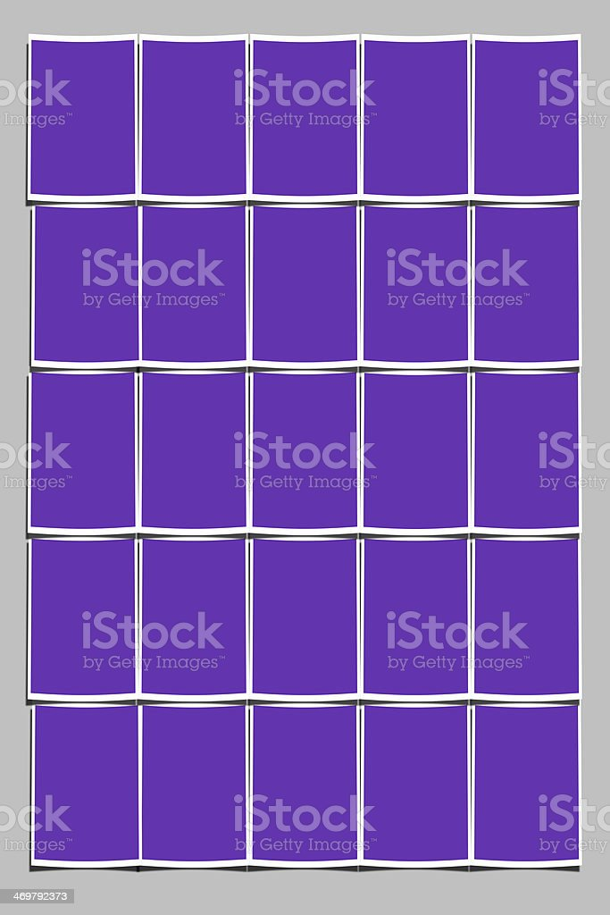 Purple color Image Puzzle royalty-free stock photo