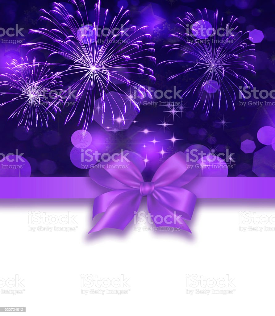 Purple colored holiday background stock photo