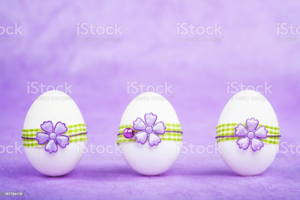 Purple Easter royalty-free stock photo