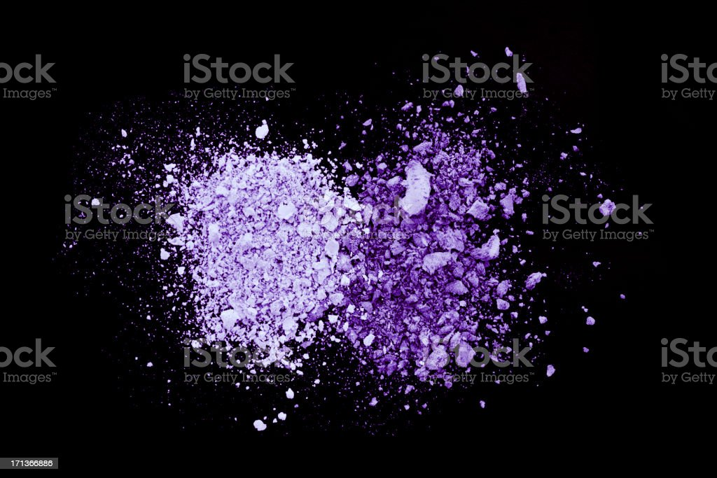 Purple Eyeshadow royalty-free stock photo