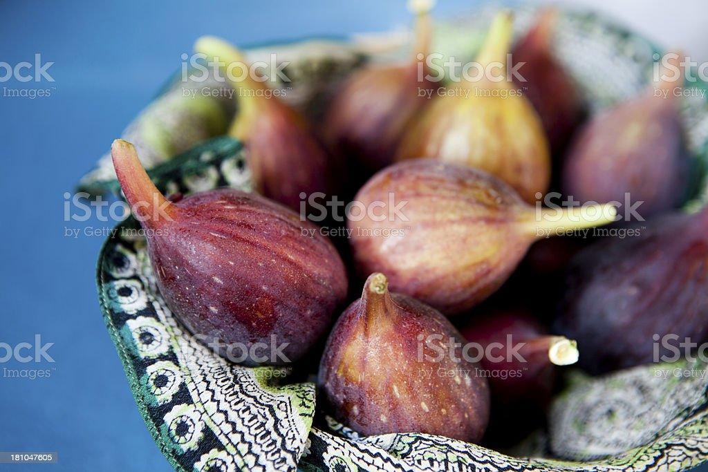 Purple Figs royalty-free stock photo