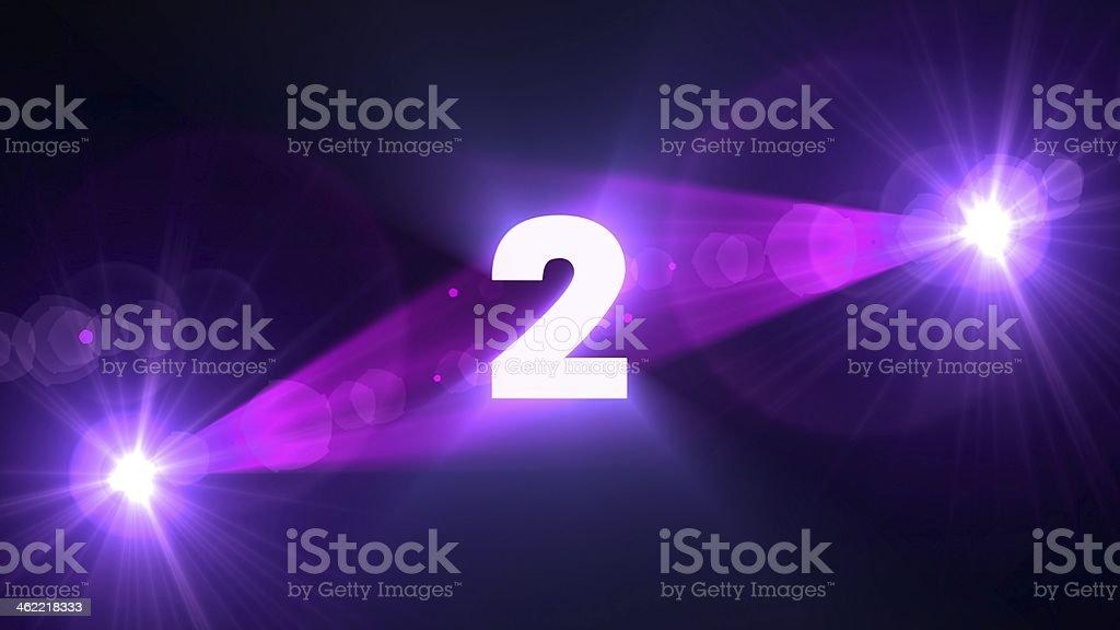 purple flare 2 background royalty-free stock photo