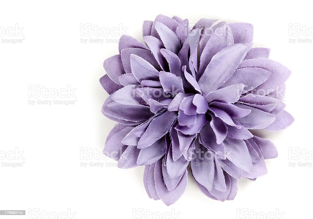 purple flower from tissue royalty-free stock photo