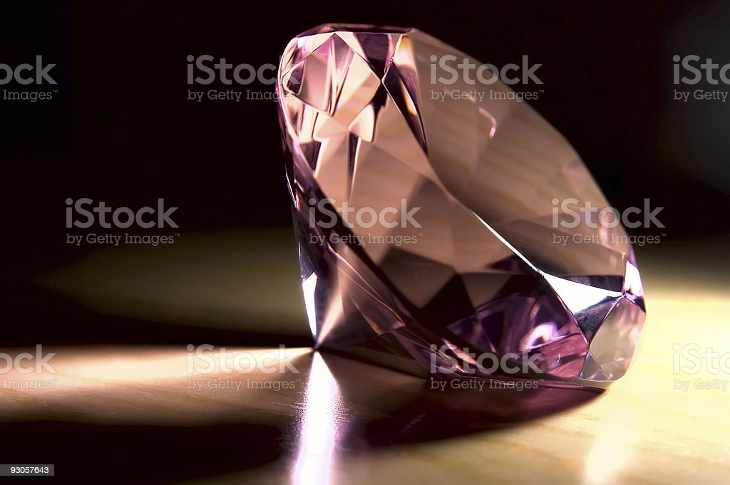 Purple Gem royalty-free stock photo