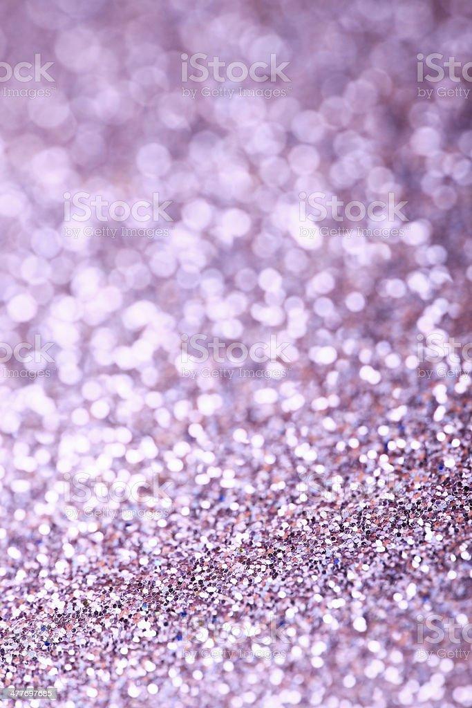 Purple Glitter royalty-free stock photo