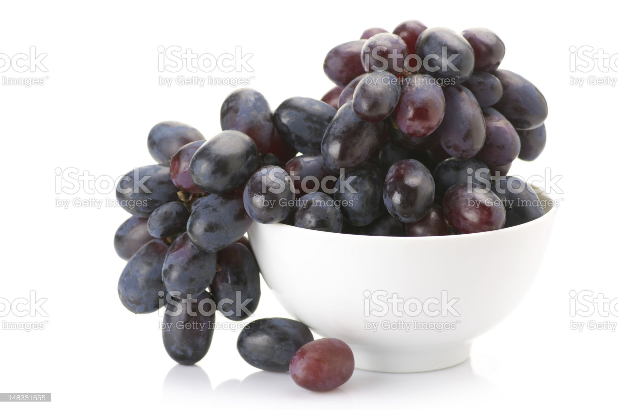 Purple grape royalty-free stock photo