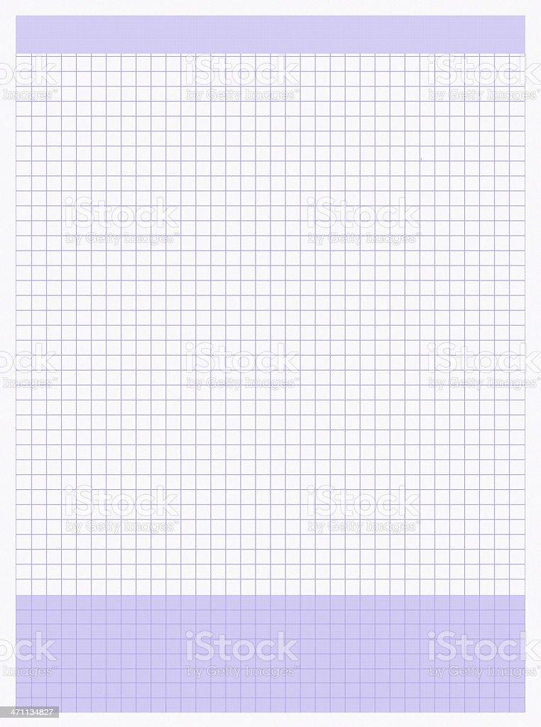 purple graph paper royalty-free stock photo