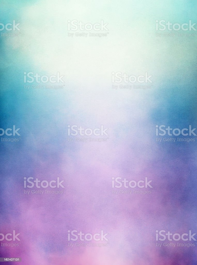 Purple Green Fog stock photo