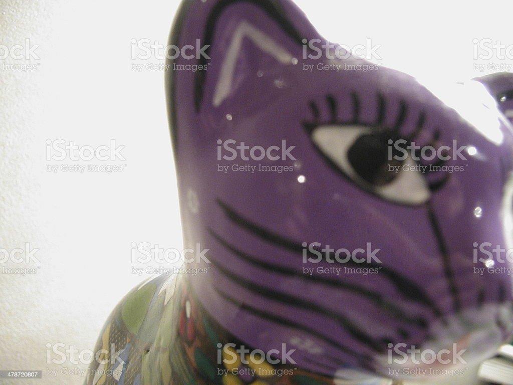 purple mexincan cat royalty-free stock photo