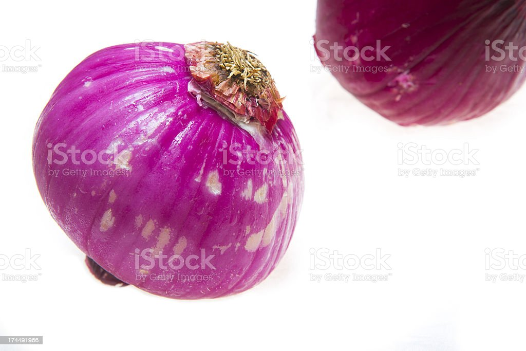 Purple Onions royalty-free stock photo
