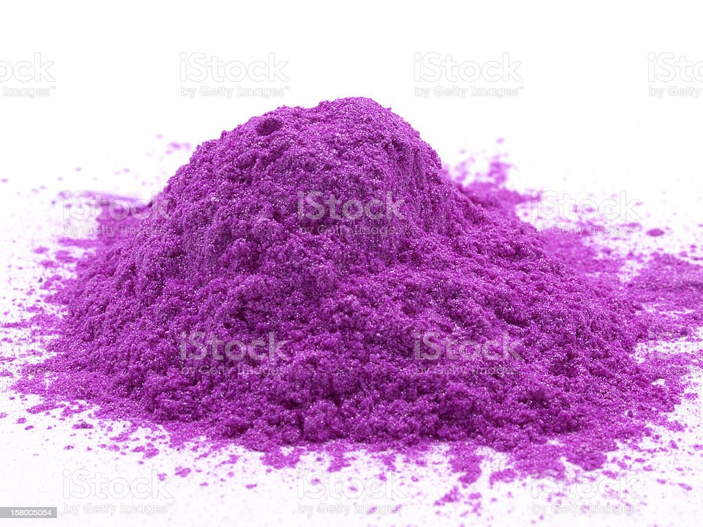Purple Paint Pigment royalty-free stock photo