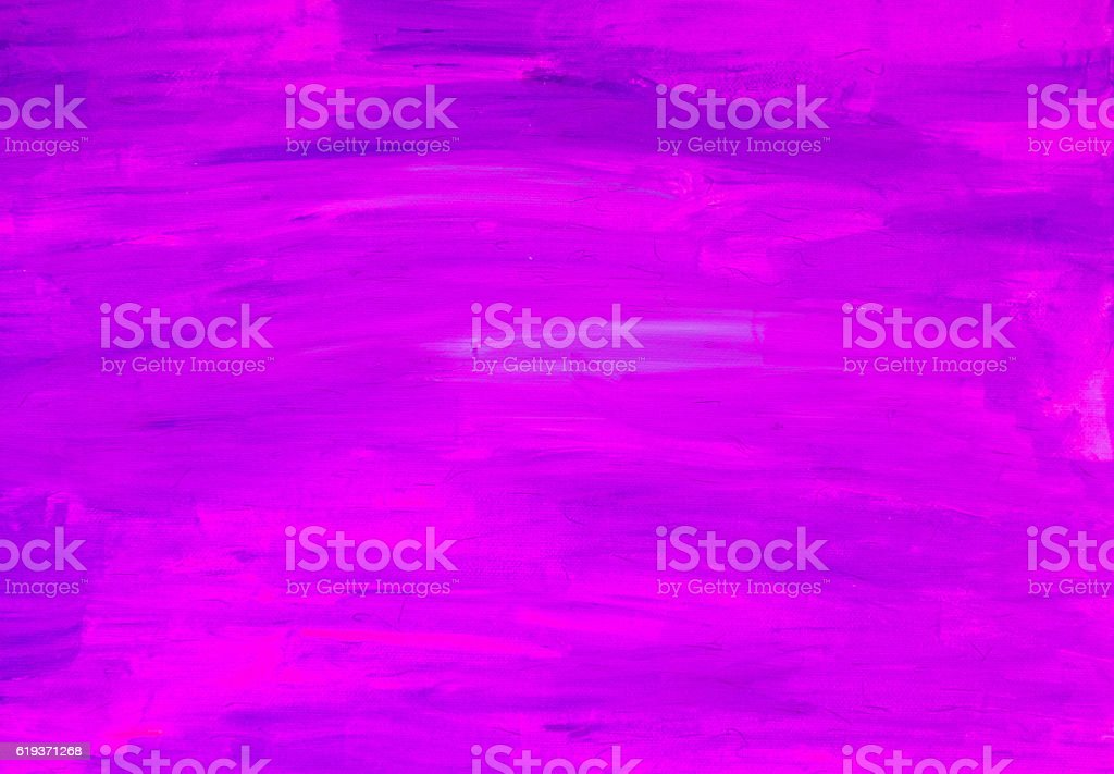Purple painted canvas background stock photo