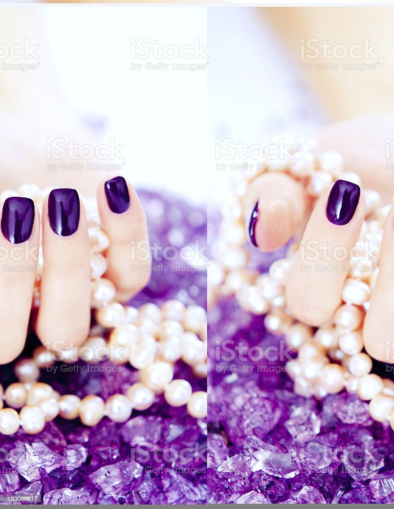 Purple royalty-free stock photo