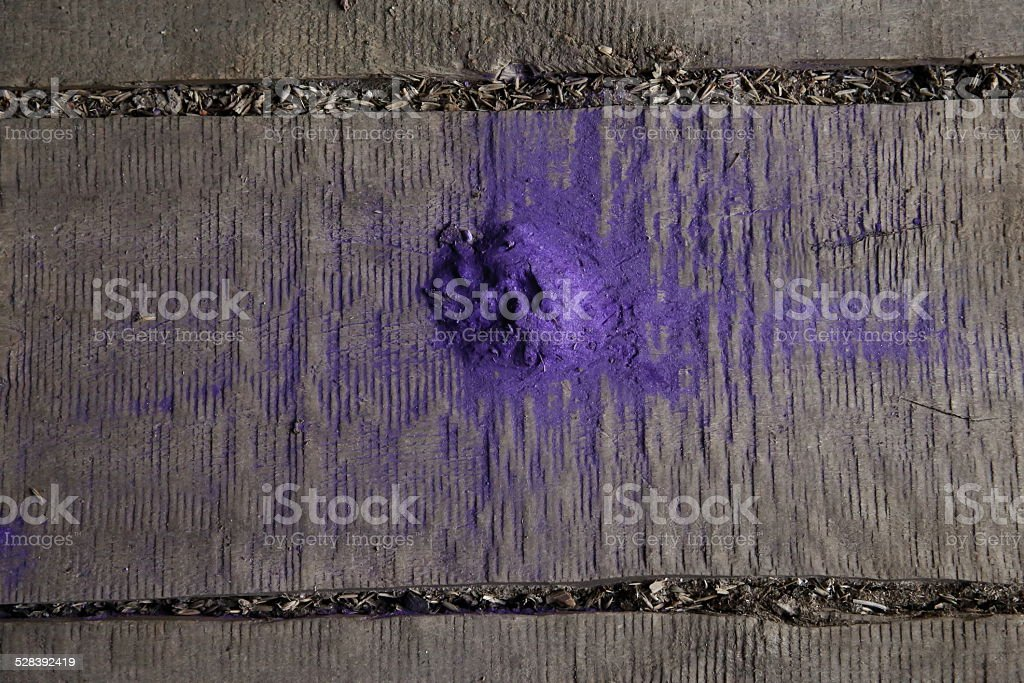 Purple powder stock photo