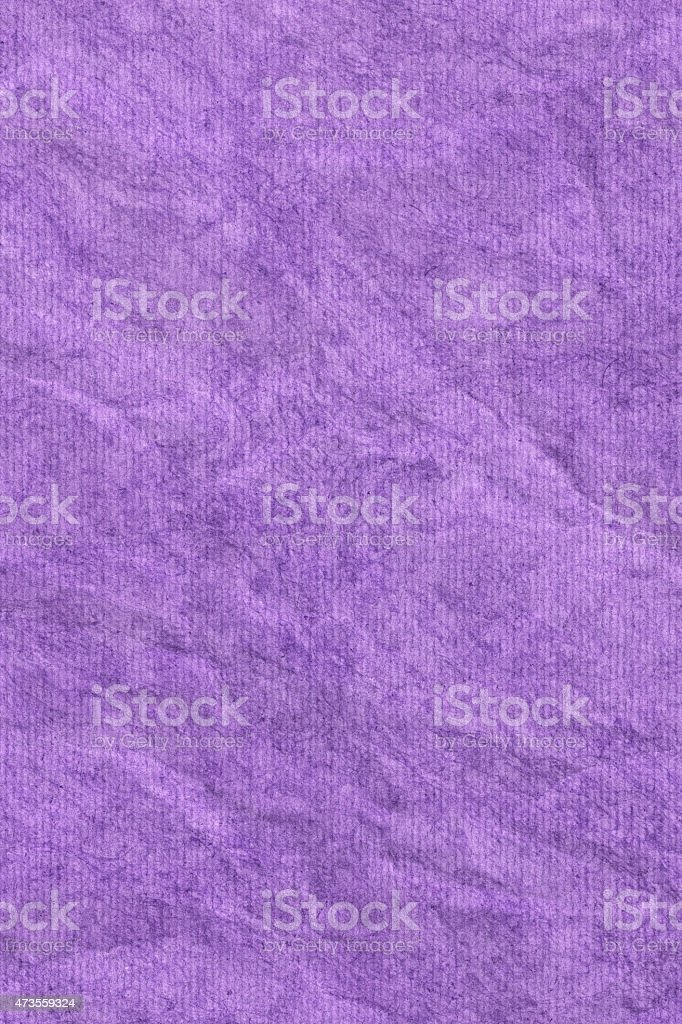 Purple Recycled Striped Paper Mottled Crumpled Grunge Texture stock photo