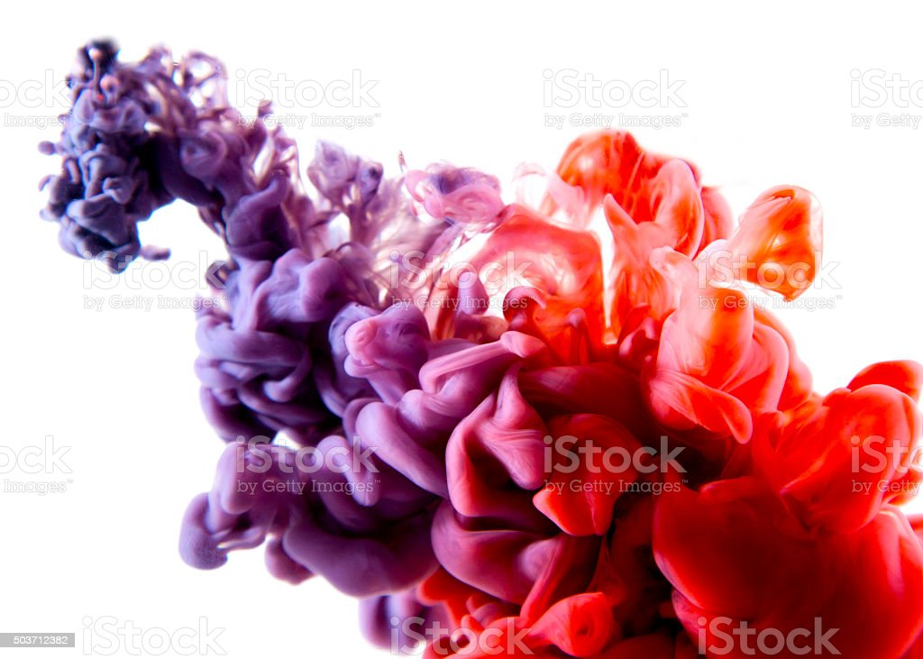 purple red abstract art stock photo