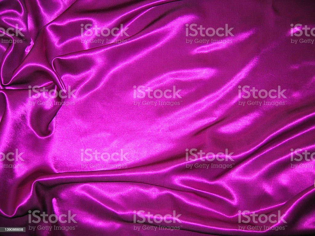 Purple Satin Texture royalty-free stock photo
