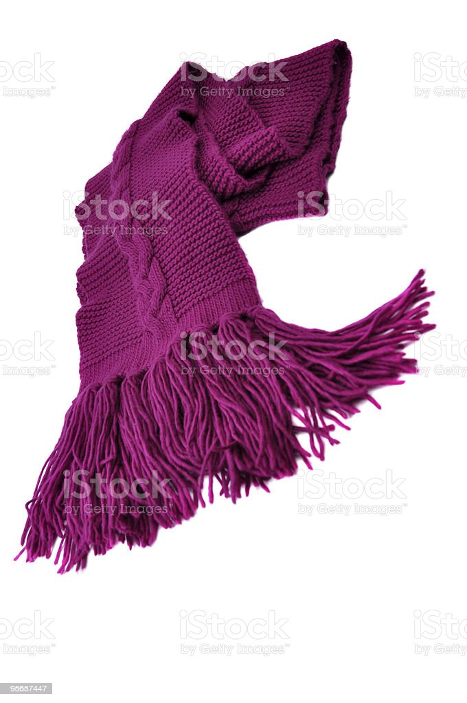 Purple Shawl royalty-free stock photo