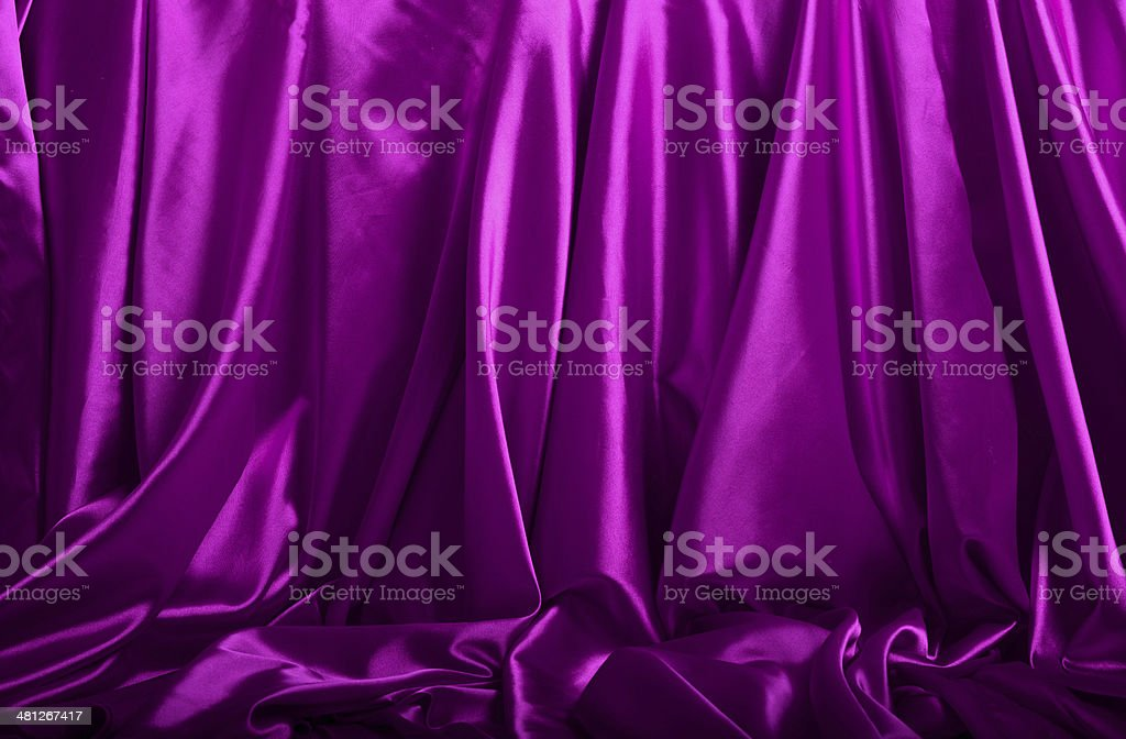 Purple silk background royalty-free stock photo