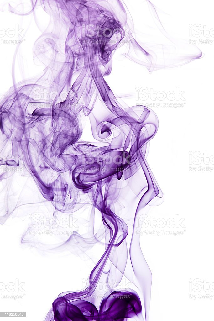 purple smoke detail royalty-free stock photo