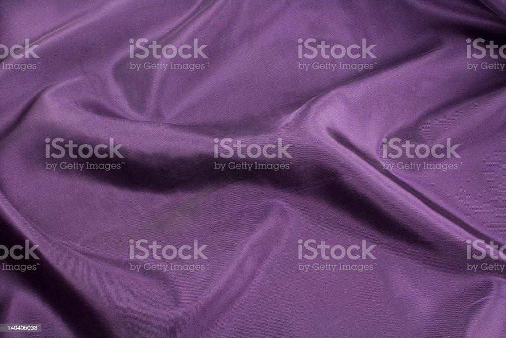 Purple taffeta stock photo