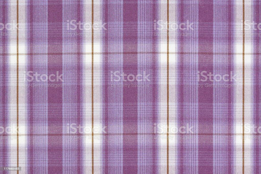 Purple tartan. royalty-free stock photo